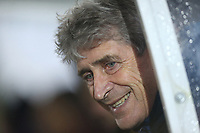 West Ham United manager Manuel Pellegrini <br /> <br /> Photographer Rob Newell/CameraSport<br /> <br /> Emirates FA Cup Fourth Round - AFC Wimbledon v West Ham United - Saturday 26th January 2019 - Kingsmeadow Stadium - London<br />  <br /> World Copyright © 2019 CameraSport. All rights reserved. 43 Linden Ave. Countesthorpe. Leicester. England. LE8 5PG - Tel: +44 (0) 116 277 4147 - admin@camerasport.com - www.camerasport.com