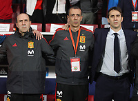 Spanish coach Julen Lopetegui (R)<br /> Spain vs Argentina selections team pre Russian Soccer World Cup football match at Wanda Metropolitano stadium in Madrid on March 27, 2018.