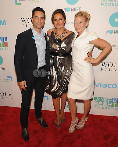 New York,NY-May 29: Danny Pino,Mariska Hargitay and Kelli Giddish Attends Mariska Hargitayís Joyful Heart Foundation 10th anniversary  in New York City on May 29, 2014. Credit: John Palmer/MediaPunch