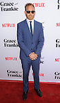 Ethan Embry arriving at the Grace and Frankie Season 2 Premiere held at Harmony Gold on May 1, 2016