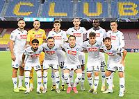 20200808 Calcio Barcelona Napoli Champions League