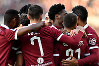 Alex Berenguer of Torino FC  celebrates with team mates after scoring the goal of 1-0 <br /> Torino 12/01/2020 Stadio Olimpico <br /> Football Serie A 2019/2020 <br /> FC Torino - Bologna  <br /> Photo Giuliano Marchisciano / Insidefoto