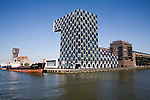 STC Group building Delfshaven Port of Rotterdam, Netherlands
