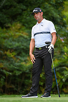 Gary Woodland (USA) watches his tee shot on 13 during round 2 of the 2019 Tour Championship, East Lake Golf Course, Atlanta, Georgia, USA. 8/23/2019.<br /> Picture Ken Murray / Golffile.ie<br /> <br /> All photo usage must carry mandatory copyright credit (© Golffile | Ken Murray)