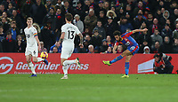 Crystal Palace's Andros Townsend scores his side's second goal <br /> <br /> Photographer Rob Newell/CameraSport<br /> <br /> The Premier League - Saturday 1st December 2018 - Crystal Palace v Burnley - Selhurst Park - London<br /> <br /> World Copyright &copy; 2018 CameraSport. All rights reserved. 43 Linden Ave. Countesthorpe. Leicester. England. LE8 5PG - Tel: +44 (0) 116 277 4147 - admin@camerasport.com - www.camerasport.com