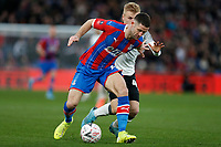 5th January 2020; Selhurst Park, London, England; English FA Cup Football, Crystal Palace versus Derby County; Gary Cahill of Crystal Palace holds off Louie Sibley of Derby County - Strictly Editorial Use Only. No use with unauthorized audio, video, data, fixture lists, club/league logos or 'live' services. Online in-match use limited to 120 images, no video emulation. No use in betting, games or single club/league/player publications