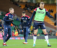 Bolton Wanderers' David Wheater during the pre-match warm-up <br /> <br /> Photographer David Shipman/CameraSport<br /> <br /> The EFL Sky Bet Championship - Norwich City v Bolton Wanderers - Saturday 8th December 2018 - Carrow Road - Norwich<br /> <br /> World Copyright &copy; 2018 CameraSport. All rights reserved. 43 Linden Ave. Countesthorpe. Leicester. England. LE8 5PG - Tel: +44 (0) 116 277 4147 - admin@camerasport.com - www.camerasport.com