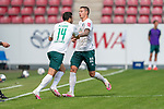 Einwechslung Claudio Pizarro (Werder Bremen #14) für Marco Friedl (Werder Bremen #32)<br /> <br /> <br /> Sport: nphgm001: Fussball: 1. Bundesliga: Saison 19/20: 33. Spieltag: 1. FSV Mainz 05 vs SV Werder Bremen 20.06.2020<br /> <br /> Foto: gumzmedia/nordphoto/POOL <br /> <br /> DFL regulations prohibit any use of photographs as image sequences and/or quasi-video.<br /> EDITORIAL USE ONLY<br /> National and international News-Agencies OUT.