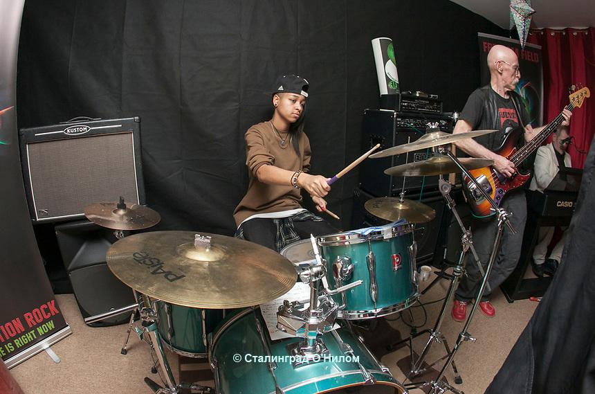 Band Rehersal, Freedom Fields, Kings Norton, 23rd Feb 2017