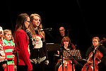 Drogheda Orchestral Collective holding first Christmas Concert Beth Murtagh and Grace English<br /> Picture: Fran Caffrey www.newsfile.ie