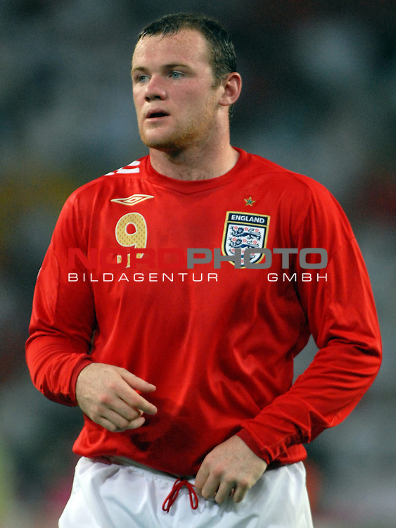 FIFA WM 2006 -  Gruppe B Vorrunde ( Group B )<br /> Play    #35 (20-Jun) - Schweden vs England <br /> <br /> Wayne Rooney (ENG)<br /> <br /> Foto &copy; nordphoto