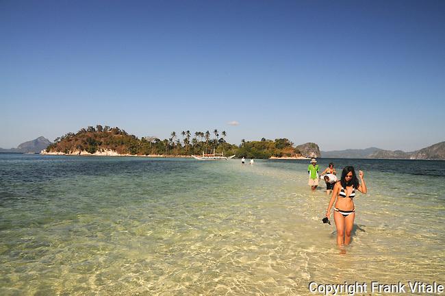 Snake Island, Palawan, Philippines
