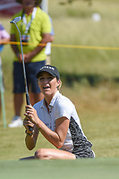 Jaye Marie Green (USA) nearly putts in from off the green on 12 during the round 3 of the Volunteers of America Texas Classic, the Old American Golf Club, The Colony, Texas, USA. 10/5/2019.<br /> Picture: Golffile   Ken Murray<br /> <br /> <br /> All photo usage must carry mandatory copyright credit (© Golffile   Ken Murray)