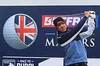 Scott Hend (AUS) on the 10th tee during the Pro-Am of the Betfred British Masters 2019 at Hillside Golf Club, Southport, Lancashire, England. 08/05/19<br /> <br /> Picture: Thos Caffrey / Golffile<br /> <br /> All photos usage must carry mandatory copyright credit (© Golffile | Thos Caffrey)