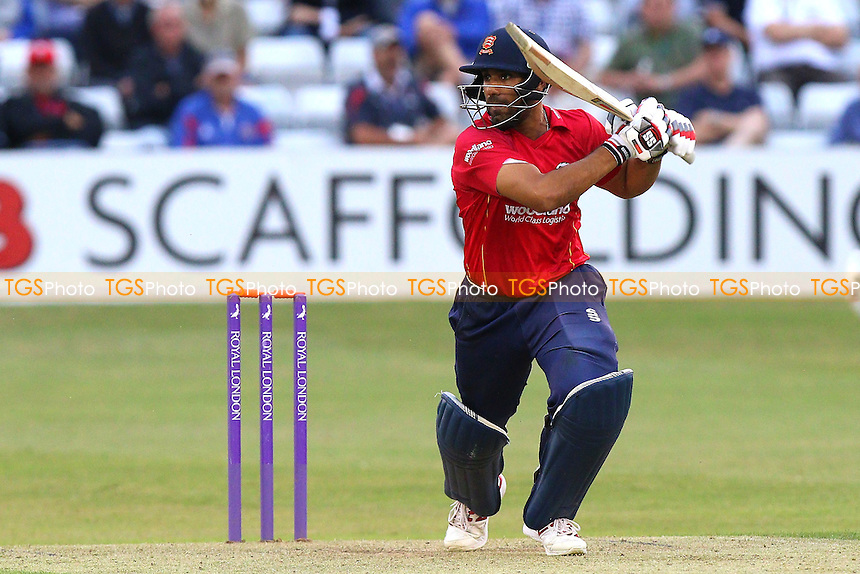 Ravi Bopara in batting action for Essex during Essex Eagles vs Glamorgan, Royal London One-Day Cup Cricket at the Essex County Ground on 26th July 2016