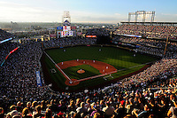 July 3, 2009: Announced attendance of 49,026 take in a game between the Arizona Diamondbacks and the Colorado Rockies at Coors Field in Denver, Colorado. The Rockies shutout the Diamondbacks, 5-0.