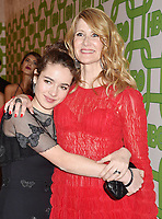 BEVERLY HILLS, CA - JANUARY 06: Laura Dern (R) and Jaya Harper attend HBO's Official Golden Globe Awards After Party at Circa 55 Restaurant at the Beverly Hilton Hotel on January 6, 2019 in Beverly Hills, California.<br /> CAP/ROT/TM<br /> ©TM/ROT/Capital Pictures