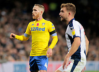 Leeds United's Adam Forshaw in action<br /> <br /> Photographer David Shipman/CameraSport<br /> <br /> The EFL Sky Bet Championship - West Bromwich Albion v Leeds United - Saturday 10th November 2018 - The Hawthorns - West Bromwich<br /> <br /> World Copyright © 2018 CameraSport. All rights reserved. 43 Linden Ave. Countesthorpe. Leicester. England. LE8 5PG - Tel: +44 (0) 116 277 4147 - admin@camerasport.com - www.camerasport.com