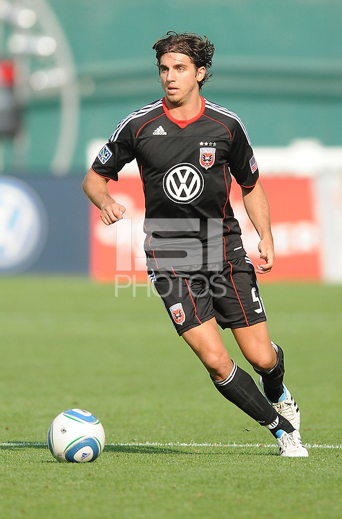 D.C. United defender Dejan Jakovic (5)  File photo RFK stadium 2011 season.