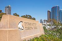 Embarcadero Marina Park San Diego California