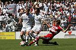 Sandhausen 10.05.2008, Marco Stark (SV Sandhausen), R.Pinto (SV Sandhausen) und Holger Badstuber (FC Bayern M&uuml;nchen II) in der Regionalliga beim Spiel SV Sandhausen - FC Bayern M&uuml;nchen II<br /> <br /> Foto &copy; Rhein-Neckar-Picture *** Foto ist honorarpflichtig! *** Auf Anfrage in h&ouml;herer Qualit&auml;t/Aufl&ouml;sung. Belegexemplar erbeten.