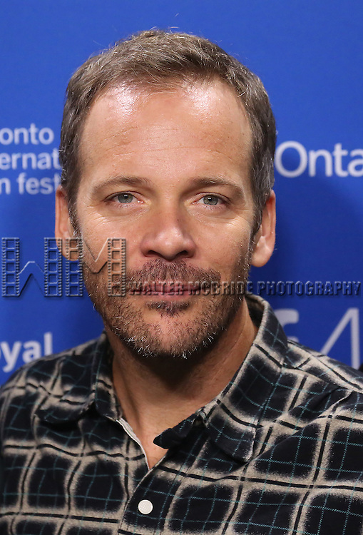 Peter Sarsgaard attends the 'Black Mass' photo call during the 2015 Toronto International Film Festival at Roy Thomson Hall on September 14, 2015 in Toronto, Canada.