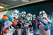 1st October 2017, Wembley Stadium, London, England; NFL International Series, Game Two; Miami Dolphins versus New Orleans Saints; Miami Dolphins fans dressed up as storm troopers