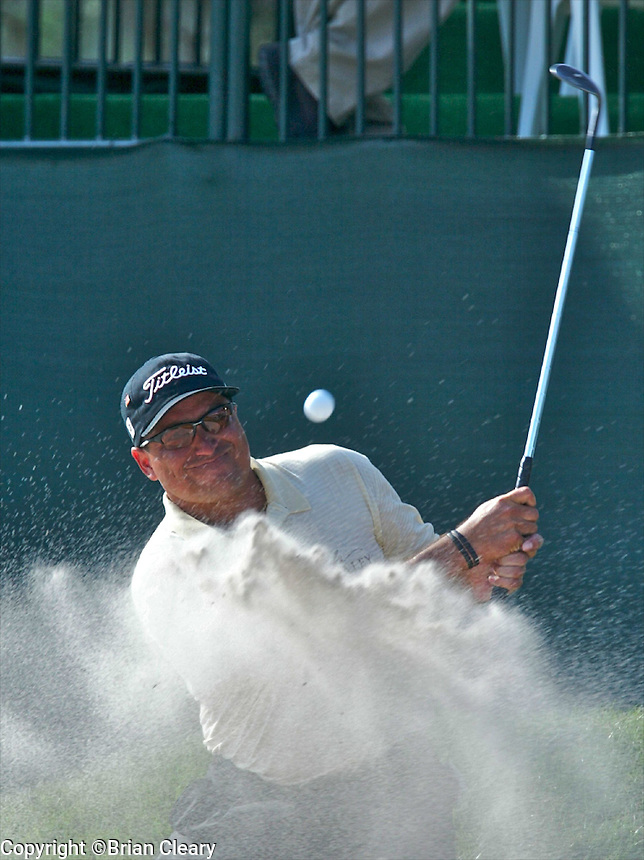 Robert Gamez in action at the Bay Hill Invitational at Arnold Palmer's Bay Hill Club & Lodge in Orlando, FL in March 2003. (Photo by Brian Cleary / www.bcpix.com)