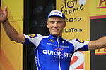 Marcel Kittel (GER) Quick-Step Floors wins Stage 2 of the 104th edition of the Tour de France 2017, running 203.5km from Dusseldorf, Germany to Liege, Belgium. 2nd July 2017.<br /> Picture: Eoin Clarke | Cyclefile<br /> <br /> <br /> All photos usage must carry mandatory copyright credit (&copy; Cyclefile | Eoin Clarke)