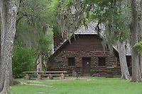 Building, Palmetto State Park, Gonzales County, Texas, USA