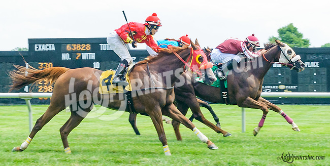 Pick the Double winning at Delaware Park on 7/18/15