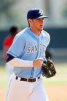 Kris Bryant #23 of the University of San Diego Toreros during a game against the Cal State Northridge Matadors at Matador Field on March 26, 2013 in Northridge, California. (Larry Goren/Four Seam Images)