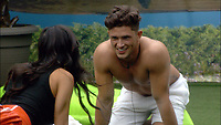 Celebrity Big Brother 2017<br /> Marissa Jade and Jordan Davies  <br /> *Editorial Use Only*<br /> CAP/KFS<br /> Image supplied by Capital Pictures