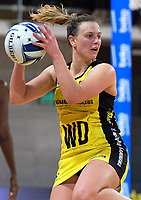 Claire Kersten in action during the ANZ Premiership netball match between the Central Pulse and Northern Stars at Te Rauparaha Arena in Wellington, New Zealand on Wednesday, 24 May 2017. Photo: Dave Lintott / lintottphoto.co.nz