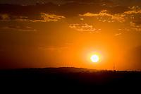 Goiania_GO, Brasil...Por do sol em Goiania, Goias...Sunset in Goiania in Goiania, Goias...Foto: BRUNO MAGALHAES /  NITRO