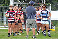 Auckland v Counties Manukau Women. Day one of the 2018 Bayleys National Sevens at Rotorua International Stadium in Rotorua, New Zealand on Saturday, 13 January 2018. Photo: Dave Lintott / lintottphoto.co.nz