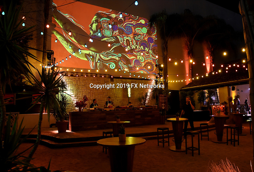 """LOS ANGELES - AUGUST 27: Atmosphere during the post party at Sunset Room Hollywood following the season two red carpet premiere of FX's """"Mayans M.C"""" on August 27, 2019 in Los Angeles, California. (Photo by Frank Micelotta/FX/PictureGroup)"""