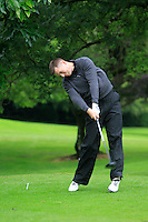 Stephen Healy (Carton House) on the 3rd tee during round 1 of The Mullingar Scratch Cup in Mullingar Golf Club on Sunday 3rd August 2014.<br /> Picture:  Thos Caffrey / www.golffile.ie