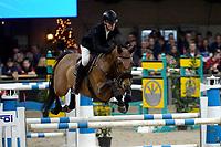 ZUIDBROEK - Paardensport, ICCH Zuidbroek, springen internationaal Grote Prijs , 05-01-2019, Kevin Jochems met Evita