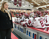 Laura Bellamy (Harvard - Assistant Coach) - The Harvard University Crimson defeated the visiting Boston University Terriers 3-1 on Friday, November 22, 2013, at Bright-Landry Hockey Center in Cambridge, Massachusetts.