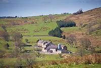 Wolfen Hall farmstead, Chipping, Lancashire.