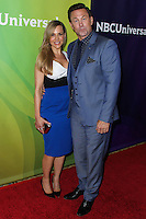 PASADENA, CA, USA - APRIL 08: Julie Benz, Grant Bowler at the NBCUniversal Summer Press Day 2014 held at The Langham Huntington Hotel and Spa on April 8, 2014 in Pasadena, California, United States. (Photo by Xavier Collin/Celebrity Monitor)