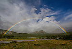 Rainbow over Brainard Lake, Indian Peaks Wilderness, Colorado. Private photo tours to Indian Peaks.