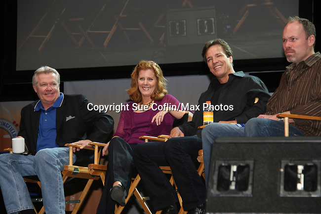 Jerry ver Dorn & Liz Keifer & Bradley Cole & Adam Reist - So Long Springfield celebrating 7 wonderful decades of Guiding Light Event - come to see fans at Mohegan Sun, Uncasville, Ct on March 7, 2010. (Photo by Sue Coflin/Max Photos)