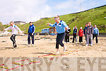 Activity day: Ballyduff National School pupils getting the most from the JSAR event in Ballybunion on Friday..