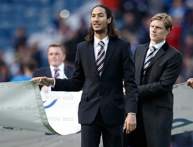 Bilel Mohsni with a black eye