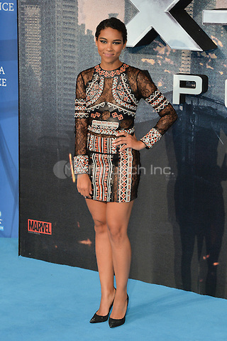 LONDON, ENGLAND - MAY 09  Alexandra Shipp attends the Global Fan Screening of 'X-Men Apocalypse', at the BFI IMAX, in London, England. 9th May 2016.<br /> CAP/JWP<br /> &copy;JWP/Capital Pictures /MediaPunch ***NORTH AND SOUTH AMERICAN SALES ONLY***