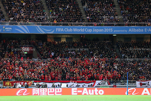 General view, <br /> DECEMBER 17, 2015 - Football / Soccer : <br /> FIFA Club World Cup Japan 2015 <br /> semi-final match between Barcelona 3-0 Guangzhou Evergrande <br /> at Yokohama International Stadium in Kanagawa, Japan.<br /> (Photo by Yohei Osada/AFLO SPORT)