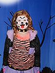 Aimee Healy enjoying the Halloween fun in Scotch Hall. Photo:Colin Bell/pressphotos.ie