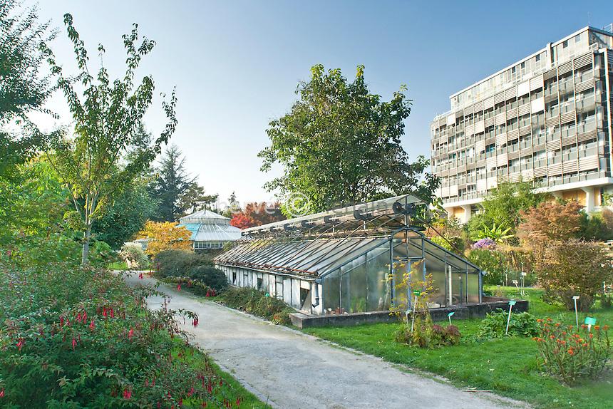 France, Alsace, Bas-Rhin, 67, Strasbourg, le Jardin Botanique // France, Alsace, Bas-Rhin, 67, Strasbourg, the Botanical Garden.